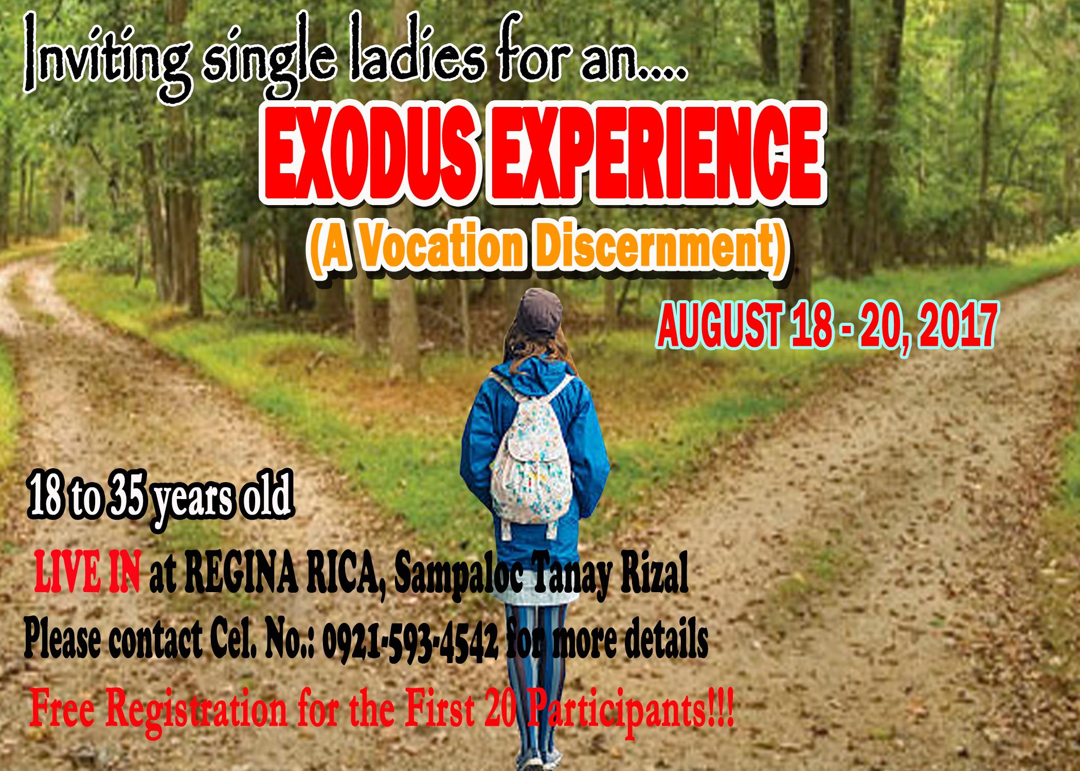 Poster for Exodus 3